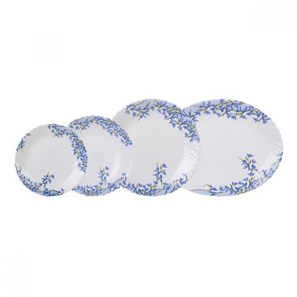 Сервіз Arcopal Aliya Blue 19 предметів (l7785)