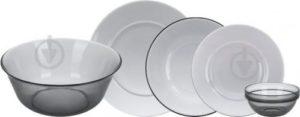 Сервіз столовий Directoire Graphite 20 предметів на 6 персон N5236 Luminarc