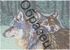 Картина бісером Вовки