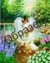 Картина бісером Ангел