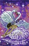 Картина бісером Балерина