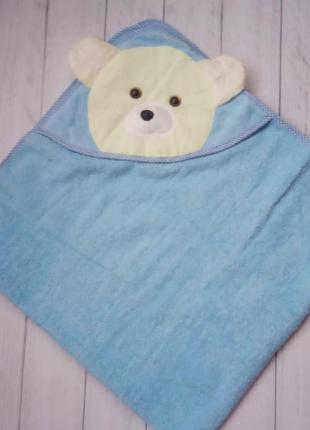 Рушник дитячий Ведмедик для купання